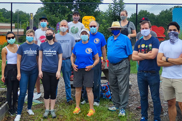 Rotary Club of Washington DC Community Engagement