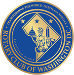 Rotary Club of Washington D.C. logo